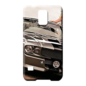 samsung galaxy s5 Highquality High Grade Skin Cases Covers For phone phone back shell mustang shelby