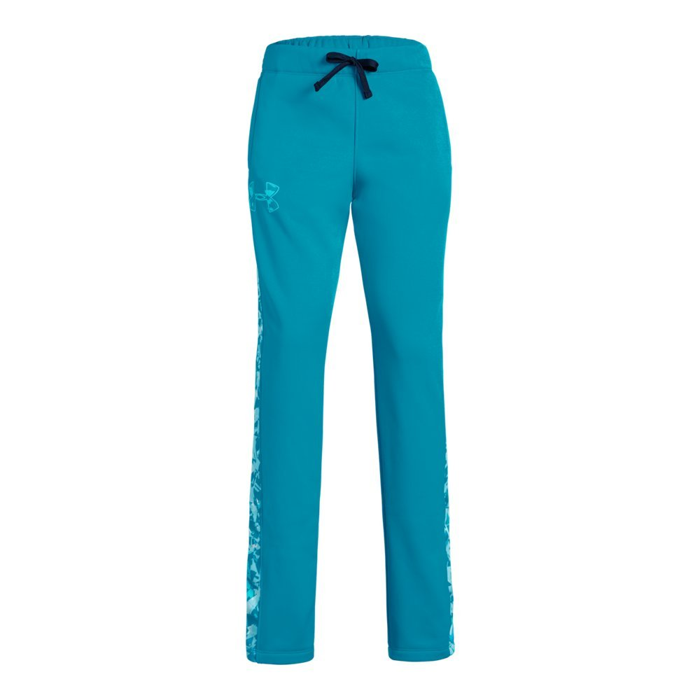 Under Armour Girls Armour Fleece Pants, Deceit (439)/Deceit, Youth X-Small by Under Armour