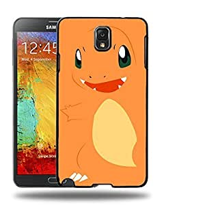 Case88 Designs Pokemon Charmander Protective Snap-on Hard Back Case Cover for Samsung Galaxy Note 3