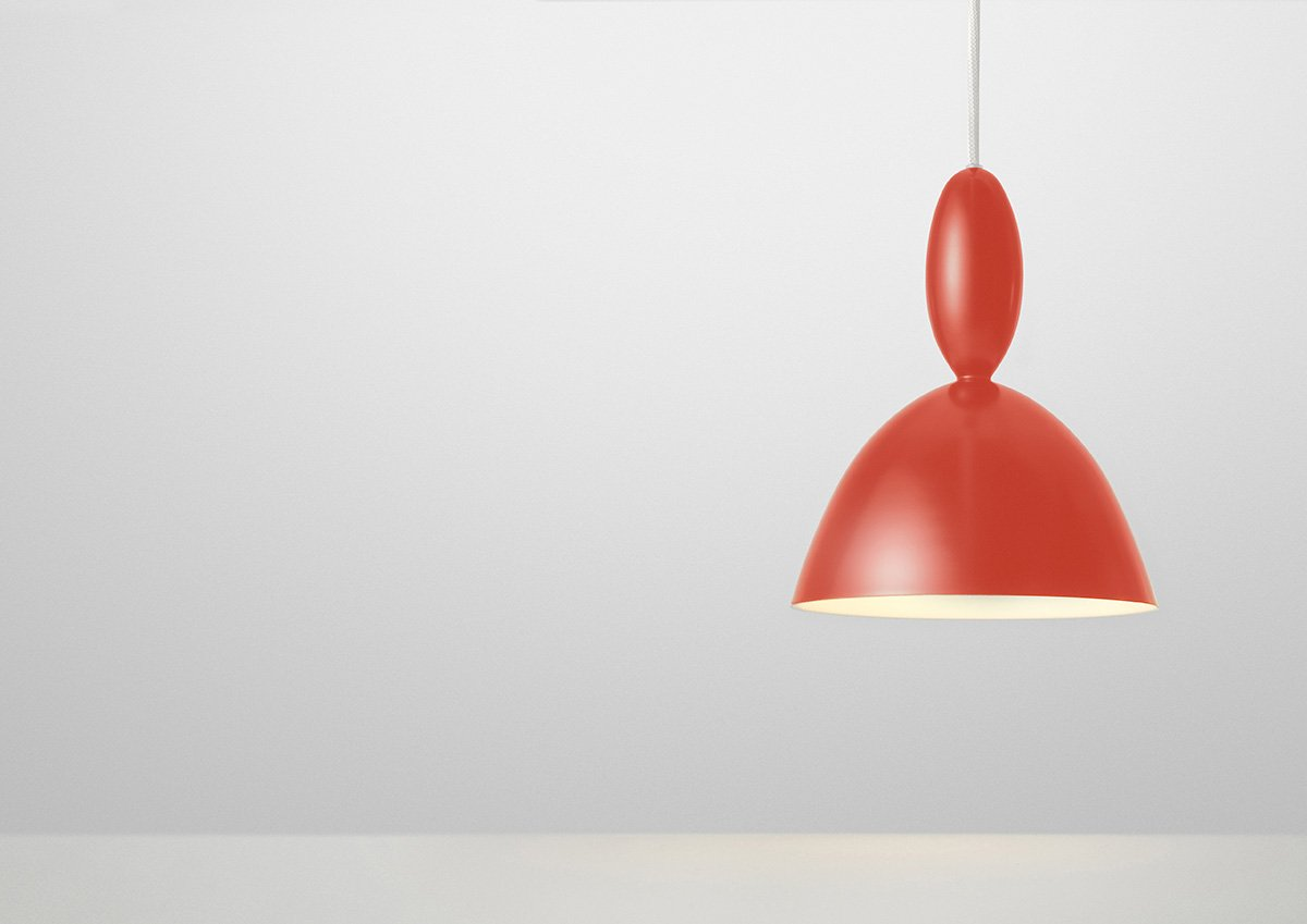 Muuto Mhy Pendant Lamp - Red: Amazon co uk: Kitchen & Home
