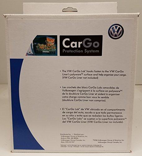 Volkswagen VW Cargo Organizer Blocks Set of 4