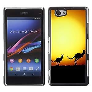 Carcasa Funda Case// Kangaroo V0000044 //Sony XPERIA Z1 MINI