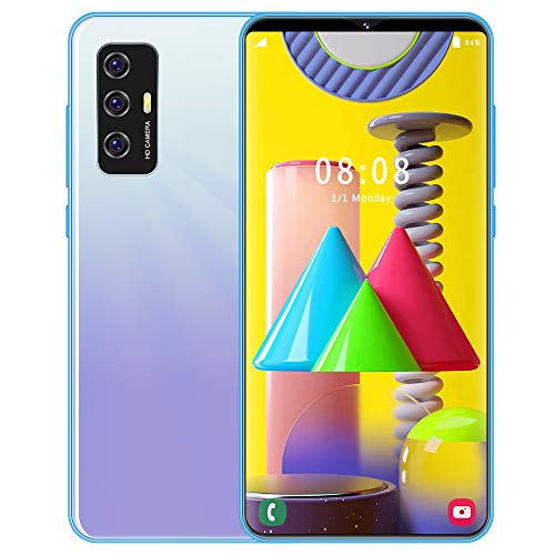 """Smartphone Unlocked, S23 Mobile Phone Dual 4G, 6.1"""" Waterdrop Screen, 3GB RAM 16GB ROM Quad Core, Android 10.0,Triple…"""