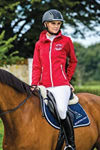 Moutain Horse Tiffany Soft Shell Jacket - Ladies - Size:Large Color:Royal Red