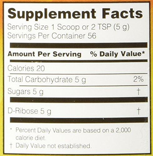 S.H.I.N.E.® D-Ribose With Bioenergy Ribose® 9.9 oz (280 g)