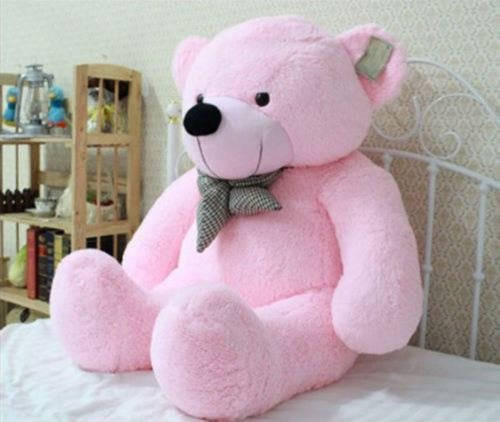Hot New Big Stuffed Bear Soft Doll Toy Pink-80cm 31inch