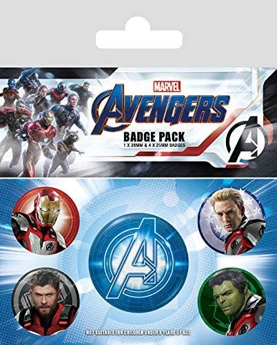 Pack Avengers Endgame - Chapas Quantum Realm Suits: Amazon.es ...