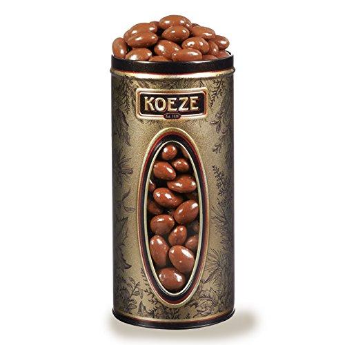 Milk Chocolate Almonds - 34 oz. Tin (Koeze Chocolate)