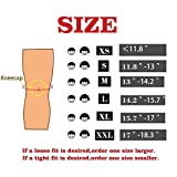 Knee Sleeve (Pair) Squat Knee Support & Compression for LoveCam, Weightlifting, CrossFit WOD, Bodybuilding – Extra Thick 7mm Neoprene Knee Sleeves – Both Men & Women