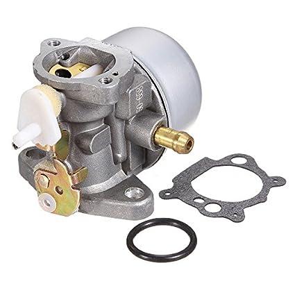 GOZAR Carburador del Cortacésped De La Aleación para Tecumseh Briggs & Stratton 499059