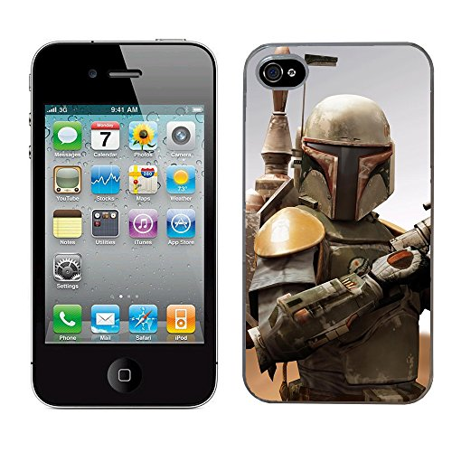 Star Wars Boba Fett Fall Passt Iphone 4& 4s Cover Hard Schutz (10) für Apple i Phone Force weckt Film