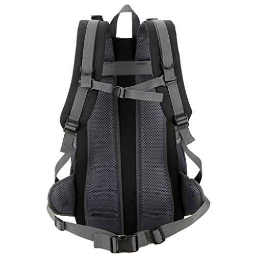 Color Nylon Shoulders Red Backpack Backpack Sports Outdoor Traveling Four Men Universal And Seasons 50L Blue Waterproof zyy Women IZBgqwt