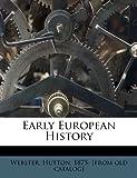 Early European History, , 1172556342
