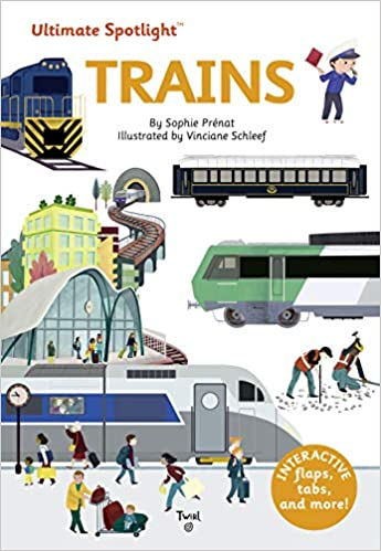 Book's Cover of Ultimate Spotlight: Trains: 5 (Inglés) Tapa dura – Ilustrado, 4 febrero 2020