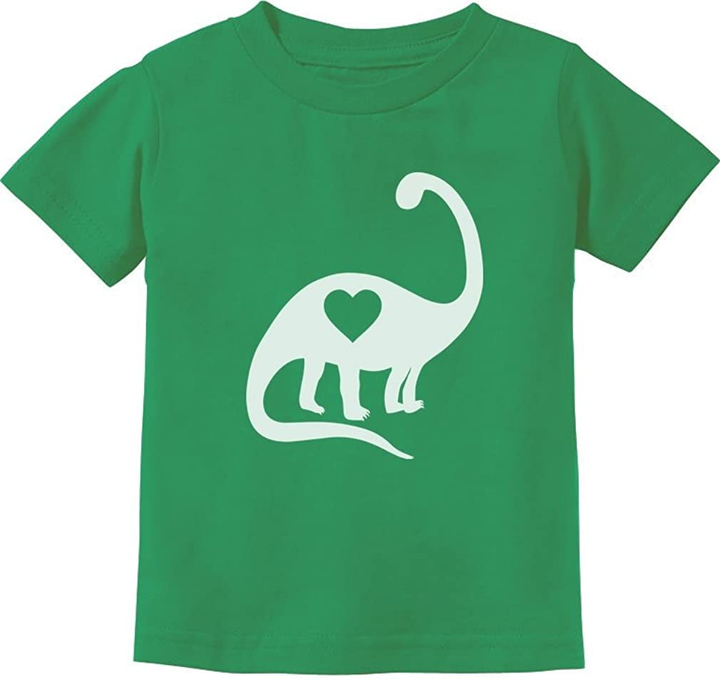 Dinosaur Love Heart Cute Toddler Kids T-Shirt TeeStars