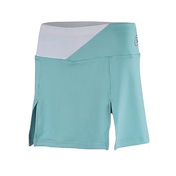 BullPadel Calendula - Falda para mujer, color verde agua, talla S