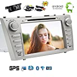 Wireless Rear Camera included! Newest Upgrade TOYOTA Camry 2007-2012 Android 6.0 Car Stereo with Touch Screen 7 inch Car DVD Player In Dash GPS Navigation Car Radio System Bluetooth/WiFi/Mirrorlink