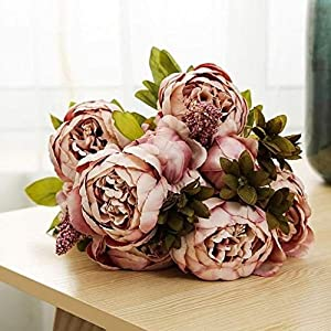 artificial peony flowers