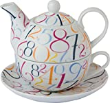 individual teapot and cup - Boston International Ideal Home Range Teapot, Numerary