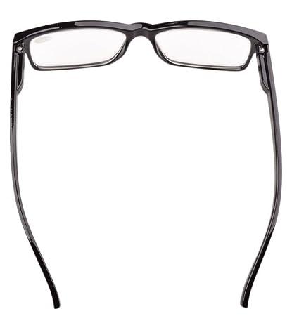 e323efb095b Eyekepper Spring Hinges Vintage Reading Glasses Men Readers Black +0.75   Amazon.co.uk  Health   Personal Care