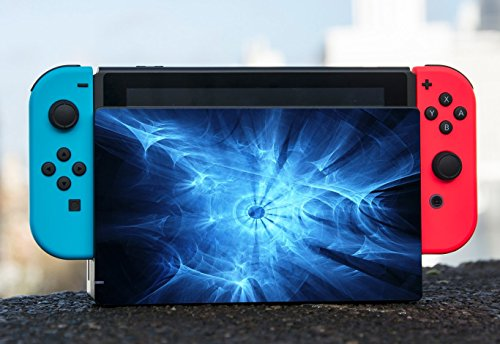 Blue Orb Design Artwork Nintendo Switch Dock Vinyl Decal Sticker Skin by Moonlight Printing