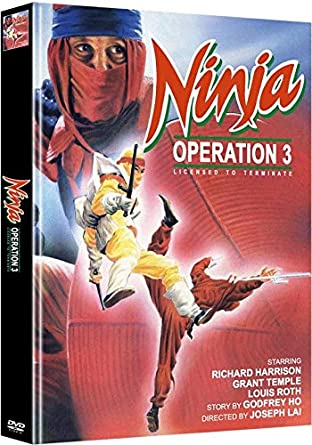 Ninja Operation 3 - Licensed to Terminate - Mediabook ...