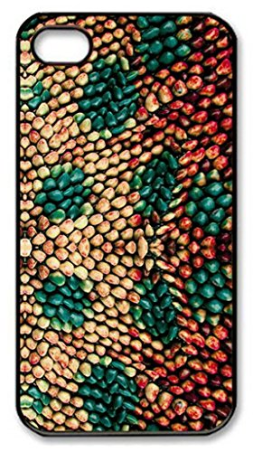 Custom Dots Design Hard Plastic Printed Picture Back Case with Wooden Pearl Pattern For iPhone 4 4S