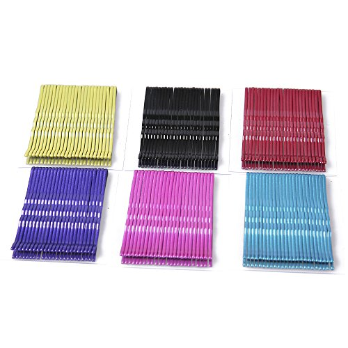 Justbuy Solid Color Bobby Pins 2 Inch Metal Barrettes 144 Count