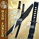 Munetoshi T-10 Handmade Samurai Wakizashi Sword