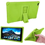 Lenovo TAB 4 8 Kids Case - Light Weight Shock Proof Soft Silicone Back Cover [Kids Friendly] for Lenovo TAB 4 8 TB-8504F TB-8504N Tablet, (Green)
