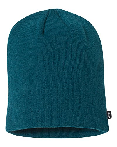 8fe687e44e370 Oakley 91099A Men s Fine Knit Beanie Moroccan Blue One Size - Buy Online in  UAE.