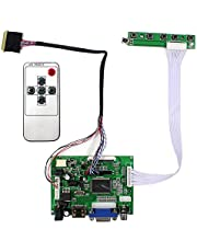"VSDISPLAY HD-MI VGA 2AV LCD Controller Board Work for 14"" 15.6'' b140xtn03.1 LP140WH1 BT140XW02 B156XW02 1366x768 LVDS 40Pin WLED Backlight LCD Screen"