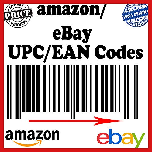 UPC Codes (250) Certified by GS1 for Listing on Amazon, Ebay, iTunes, and More