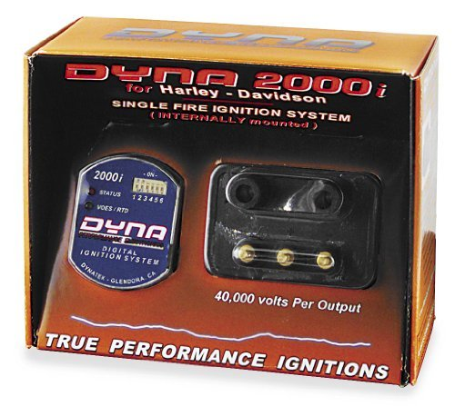 Dynatek 2000i Ignition for Single Plug Single Fire Applications with one Coil D2KI-5P (Irons Turbo Fire Power)
