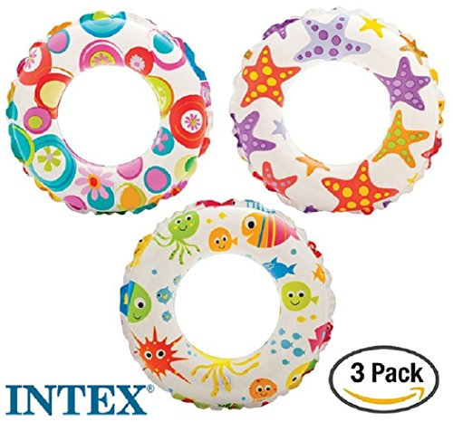Intex Recreation 59230EP Lively Print Swim Ring 20