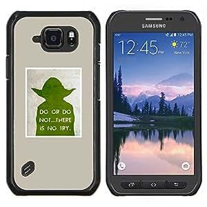 Dragon Case - FOR Samsung Galaxy S6 active/G870A/G890A (Not Fit S6) - sci-fi movie character poster space wars - Caja protectora de pl??stico duro de la cubierta Dise?¡Ào Slim Fit
