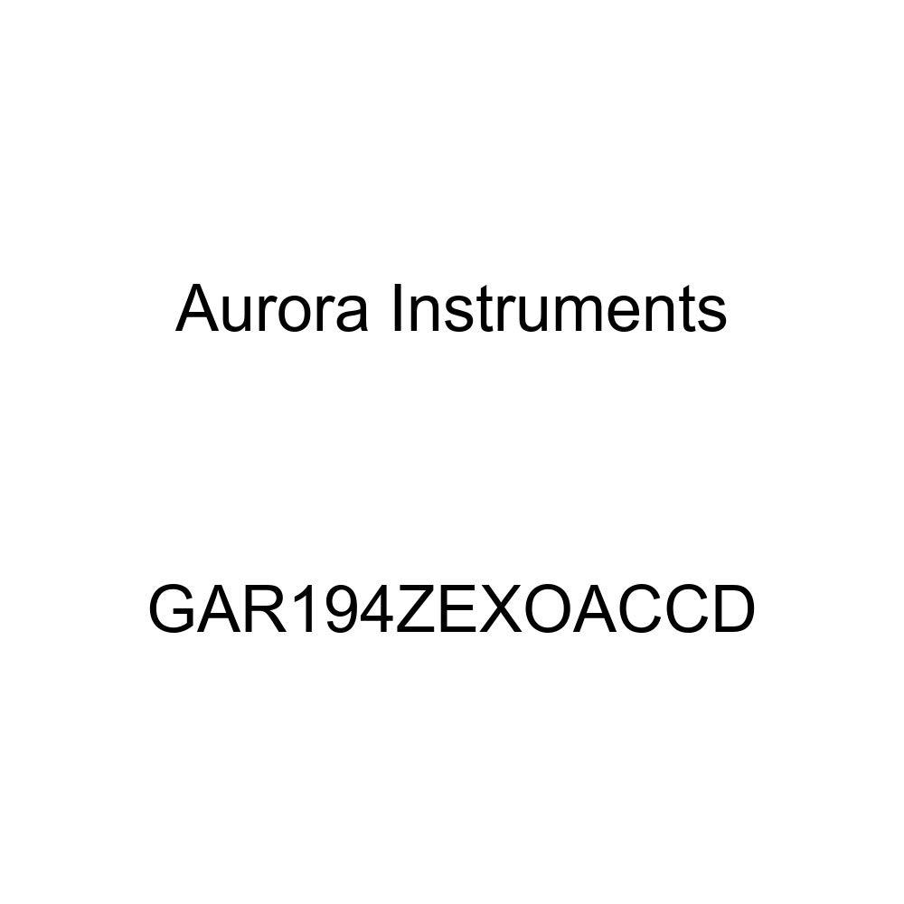 GAR194ZEXOACCD Carbon Fiber Gray Clock Gauge Aurora Instruments