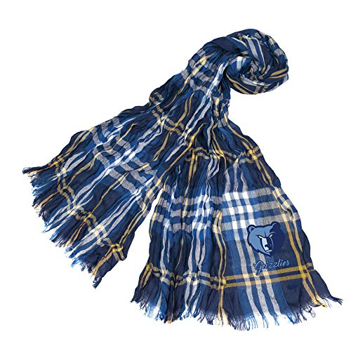 Littlearth NBA Memphis Grizzlies Plaid Crinkle Scarf by Littlearth