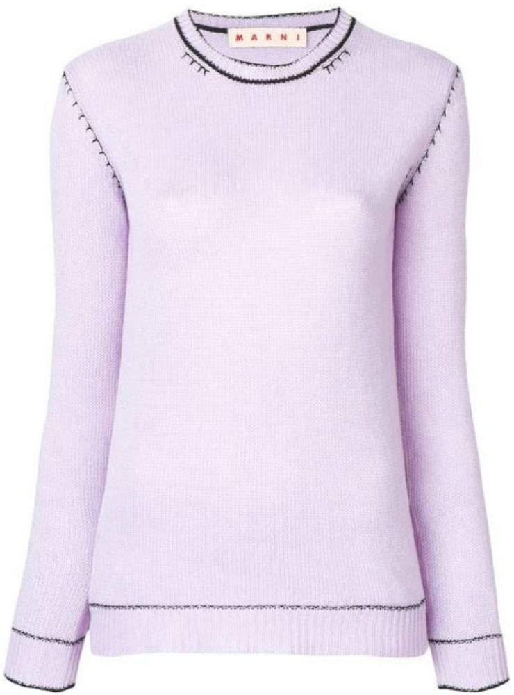 Marni Women's GCMD0071Q0FX37900C22 Pink Cashmere Sweater
