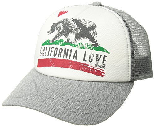 Billabong Women's Pitstop Trucker Hat Athletic Grey One Size ()