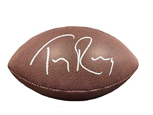 (Tony Romo Autographed Ball - Super Grip - JSA Certified - Autographed Footballs)