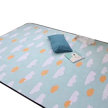 Vclife Teppich Polyester Kinderteppich Baby Spielteppich