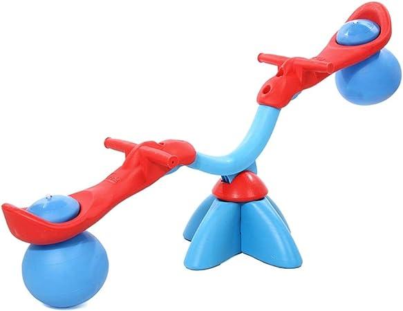 Diversión Balancín Giratorio del Balanceo-al Aire Libre For Los Niños Pequeños For Niños Niños Niños (Color : Azul, tamaño : 123x46cm): Amazon.es: Hogar