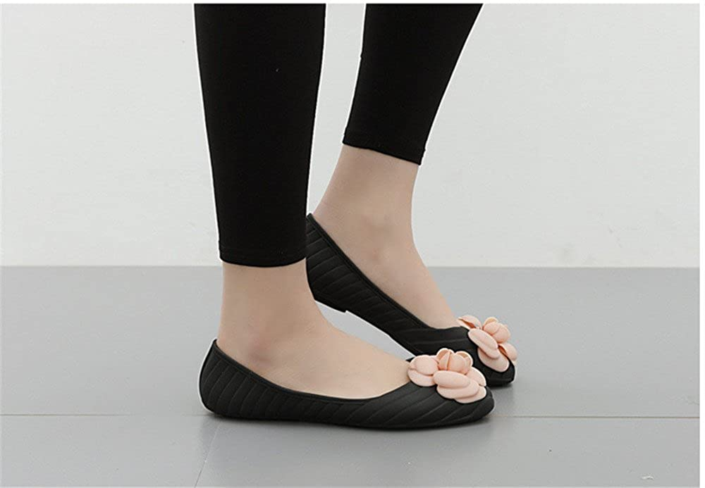 Women Classic Camellia Flats Casual Beach Sandals Lady Sandals Slippers