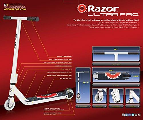 Amazon. Com: razor ultra pro kick scooter: sports & outdoors.
