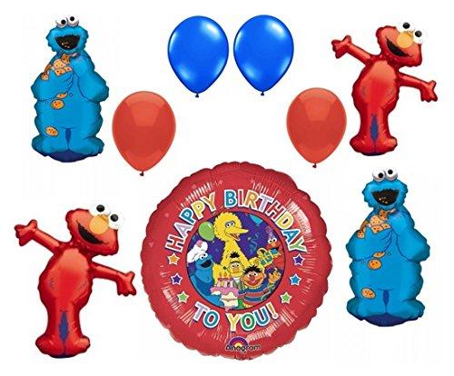 Sesame Street Birthday Balloon Bouquet product image
