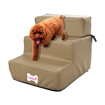 Amazon.com: Glumes Waterproof PU Leather Doggy Steps, Easy ...