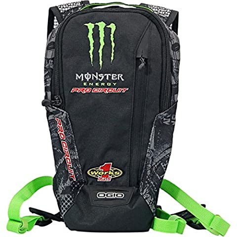 Pro Circuit 55172 Flow Hydro Pack (Hydration Pk Pc-Monster) - Monster Racing Jersey