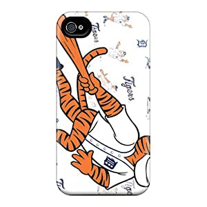 4/4s Scratch-proof Protection Case Cover For Iphone/ Hot Detroit Tigers Phone Case