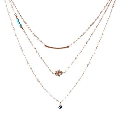 celini hamsa isabella products necklace hand